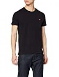 Levi's SS Original Hm tee Camiseta, Negro (Cotton + Patch Black 0009), Medium para Hombre