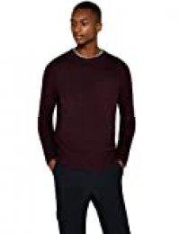 Marca Amazon - find. Stitched Crew - suéter Hombre