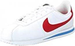 Nike Cortez Basic SL (GS), Zapatillas de Deporte Unisex Adulto, Rojo (Rojo 904764 103), 39 EU