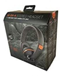 Gioteck - Auricular estero con cable XH-4 negro y naranja multiplataforma + Taza Call of Duty Black Ops 4 (PS4)