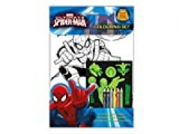 Anker spcst2 Ultimate Spiderman Brilla en la Oscuridad Set para Colorear