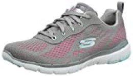Skechers Flex Appeal 3.0-Pure Velocity, Zapatillas Deportivas para Mujer