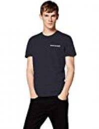 Calvin Klein Chest Institutional Slim SS tee Camiseta para Hombre