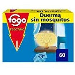 Fogo Anti-Mosquitos Insecticida Insectos 60 Pastillas para Aparato Eléctrico
