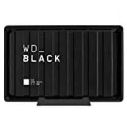 WD BlackD10 - Game Drive de 8TB y 7200 r.p.m. con refrigeración activa para guardar tu enorme colección de juegos