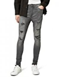 Marca Amazon - find. Vaqueros Skinny Hombre, Gris (Washed Grey), 36W / 34L, Label: 36W / 34L