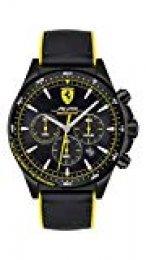 Ferrari Reloj Analógico para Unisex niños de Cuarzo con Correa en Silicone 860006
