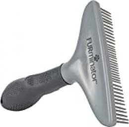 FURminato Peine de rastrillo para perros y gatos de pelo largo - cepillo para evitar nudos y pelo enmarañado