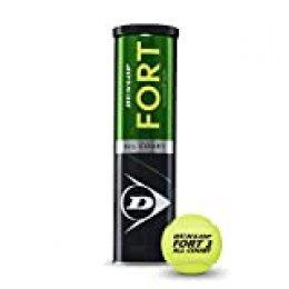 Dunlop Fort All Court TS Pelotas Tenis, Adultos Unisex, Amarillo
