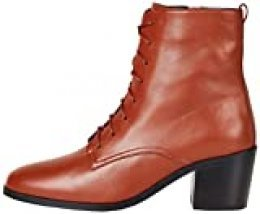 Marca Amazon - find. R2899, Botines Women's, Marrón (Red Rouge), 38 EU