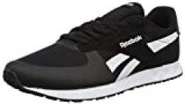 Reebok Royal CL Jog Elite, Zapatillas de Trail Running Unisex Adulto, Negro (Black/White 000), 40.5 EU