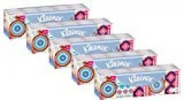 Kleenex Mini Collection - Pañuelos, pack de 5 (5 x 15), surtido: modelos aleatorios