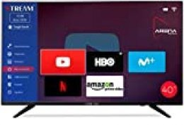 "Stream System BM40L81+ Smart - TV 40"" Full HD, Android TV, Smart TV, HDMI, USB, VGA"