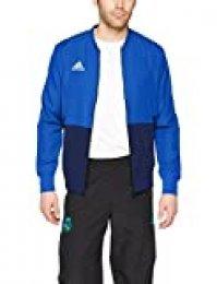 adidas Con18 Pre Jkt Chaqueta de Deporte, Hombre, Azul (Azul Claro/Azul/Blanco), XL