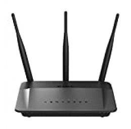 D-Link DIR-809 - Router WiFi AC 750 Mbps (4 Puertos de Red RJ-45 10/100 Mbps, botón WPS)