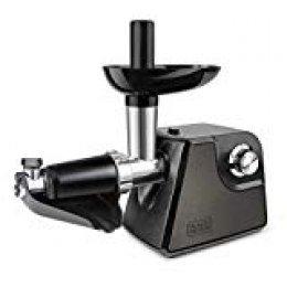 Black+Decker BXMMA1000E Picadora de Carne, 1000 W, Acero Inoxidable, Gris