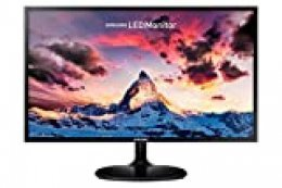 "Samsung S24F352 - Monitor de 24"" (Full HD, 4 ms, 60 Hz, LED, 16:9, 1000:1, 250 cd/m², 178°, HDMI, Base Redonda) Negro"