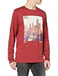 Jack & Jones Joruptown tee LS Crew Neck Camiseta de Manga Larga para Hombre