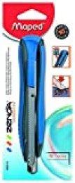 Maped 86010 cúter Cúter de Cuchillas Intercambiables Negro, Azul, Plata - Cúters