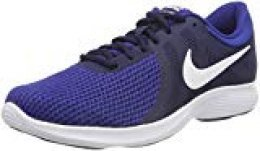 Nike Revolution 4 Eu-aj3490, Zapatillas de Running para Hombre, (Midnight Navy/White/Deep Royal Blue 414), 46 EU