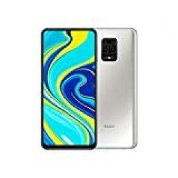 "Redmi Note 9S - Smartphone con Pantalla 6,67"" FHD+ DotDisplay (Snapdragon 720G, 6+128GB, Cámara cuádruple de 48MP, 5020mAh, Sensor de Huella Lateral) Blanco Glaciar [Versión Internacional]"