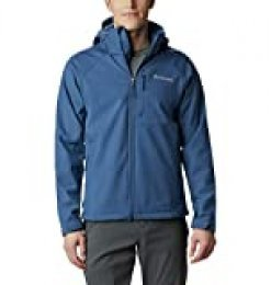 Columbia Cascade Ridge II Softshell Chaqueta, Hombre, Night Tide, M