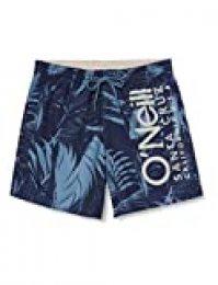 O'NEILL Cali Floral - Bañador para Hombre, Hombre, Pantalones Cortos, 0A3228, Azul (Blue AOP), Large