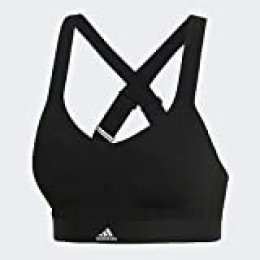 adidas Strngr Swim Top Traje de Baño, Mujer, Black, 4B