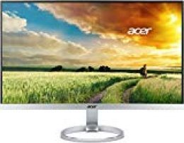"Acer H7 H277H smidx - Monitor de 27"" (Full HD, 4 ms, 250 cd / m², 0,45 W), plateado"