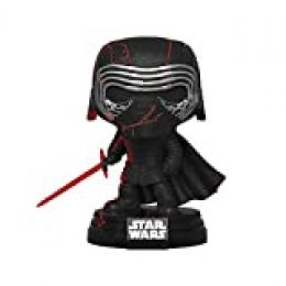 Funko- Pop Star Wars The Rise of Skywalker-Kylo REN (Lights & Sound) Collectible Figure, Multicolor (44599)