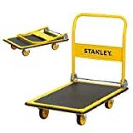 Stanley SXWTD-PC528 300 kg Steel Platform Truck - Yellow