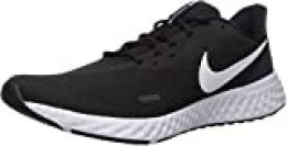 Nike Revolution 5, Zapatillas de Atletismo para Hombre, Multicolor (Black/White/Anthracite 002), 45 EU