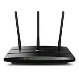 TP-Link AC1750 Archer C7 - Router Gigabit inalámbrico de doble banda, 2.4 GHz a 450 Mbps y 5 GHz a 1300 Mbps, Gigabit Puerto, USB 2.0, 3 antenas externas de doble banda