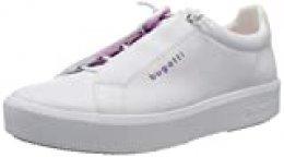 bugatti 4324076a5059, Zapatillas sin Cordones para Mujer, Blanco (White/Pink 2036), 38 EU