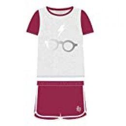 Cerdá Pijama Corto Algodón Harry Potter Conjuntos, Gris (Gris C13), 5 para Niños