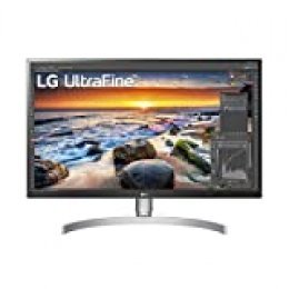 "LG 27UL650-W - Monitor 4K UHD de 68,6 cm (27"") con Panel IPS (3840 x 2160 píxeles, 16:9, 350 cd/m², sRGB >99%, 1000:1, 5 ms, 60 Hz) Color Plata y Blanco"
