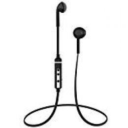 Auriculares Bluetooth 4.1, Auriculares inalámbricos Bluetooth con micrófono, Auriculares Estéreo con Cancelación de Ruido, Control de Voz, Auriculares para Samsung Galaxy Huawei etc(Negro)