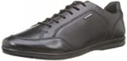 Geox U Adrien A, Zapatos de Cordones Derby para Hombre