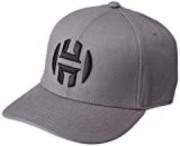 adidas Harden Cap Gorra, Unisex Adulto, Grey Five/Black, OSFL