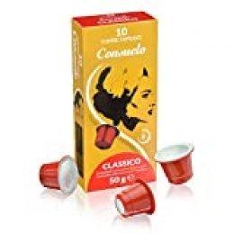 Consuelo - cápsulas de café compatibles con Nespresso* - Classico, 100 cápsulas (10x10)
