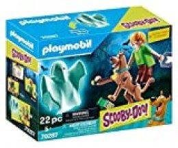 Playmobil - Scooby-Doo, Scooby & Shaggy con Fantasma (70287)