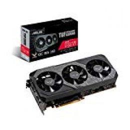 ASUS TUF Gaming X3 Radeon RX 5700 XT OC Edition 8GB GDDR6 - Tarjeta gráfica (Resistencia IP5X, diseño de 2,7 Ranuras, Auto-Extreme, compatibilidad TUF Alliance, GPU Tweak II, AMD Radeon FreeSync)