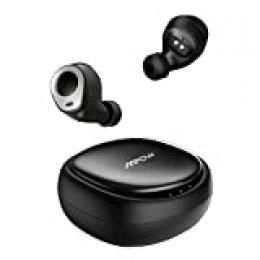Auriculares Bluetooth, Mpow Auriculares Inalámbrico 5.0, Auriculares Deportivos IPX7 Impermeable, 25H Caja de Carga, Mini Twins Sonido HD Estéreo con CVC 8.0 Cancalación de Ruido para iOS y Android