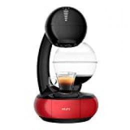 Krups Nescafé Dolce Gusto Esperta KP3105 - Cafetera monodosis (1.4 L), color negro y rojo