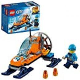 LEGO City - Ártico Trineo Glacial, Juguete Creativo de Construcción para Niños y Niñas de 5 a 12 Años, Incluye Minifigura de Explorador y Vehículo (60190)