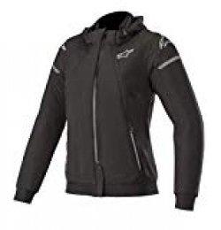 Alpinestars Stella Sektor Tech - Sudadera con capucha para mujer (talla M), color negro y gris