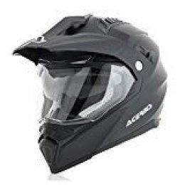 Acerbis Casco Flip fs-606Negro XL (Integral)/Helmet Flip fs-606Black XL (Full Face Helmet)