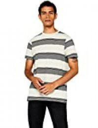 Marca Amazon - find. Camiseta de Rayas Hombre