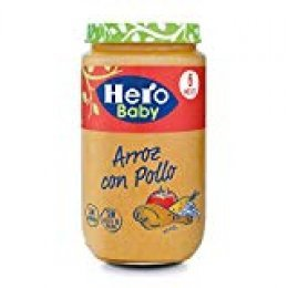 Hero Baby - Arroz Con Pollo Tierno 235 gr - Pack de 6 (Total 1410 gr)