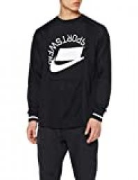 Nike M NSW Top LS Ptch Long Sleeved t-Shirt, Hombre